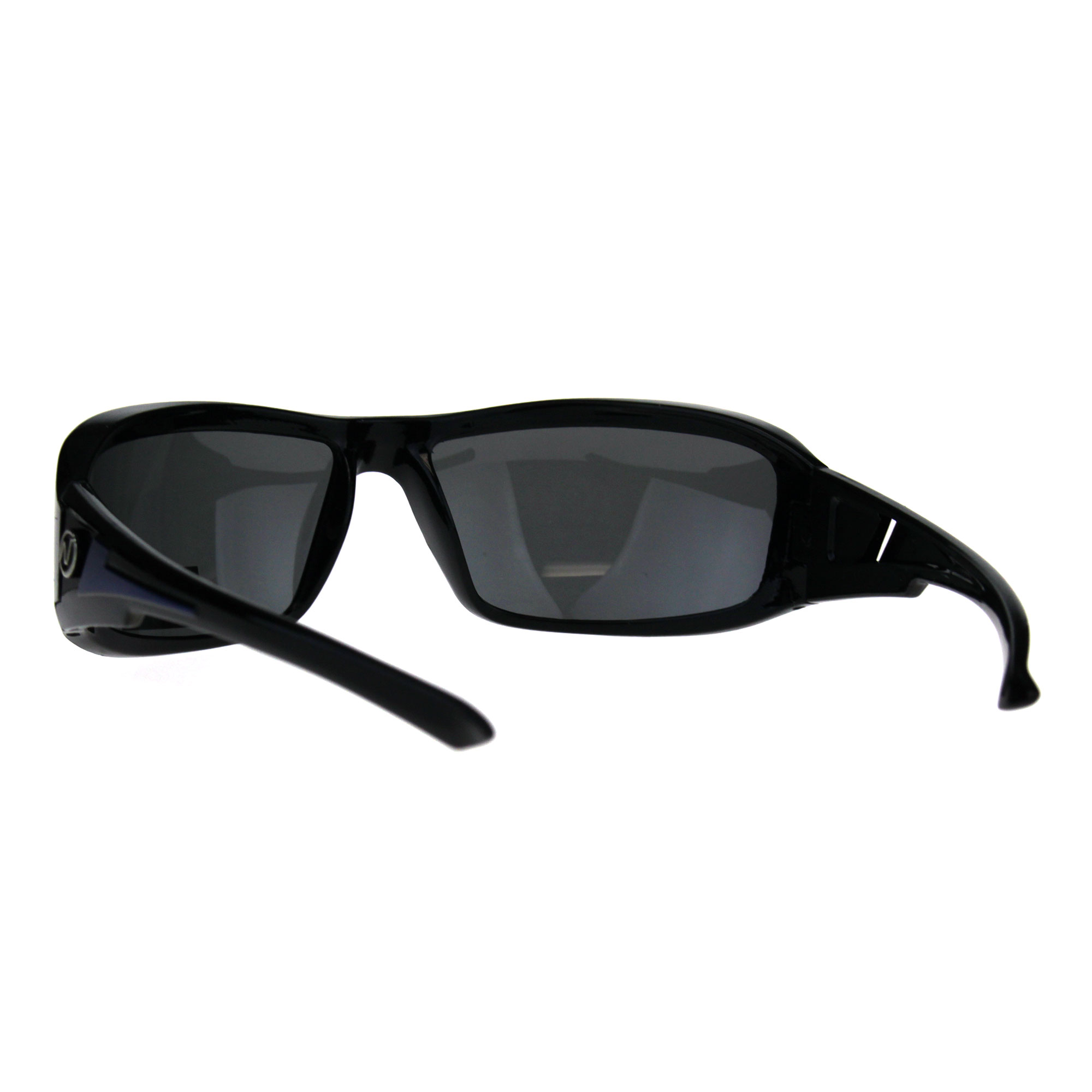 051f366b873 Polarized Futuristic Aerodynamic Warp Sport Mens Sunglasses